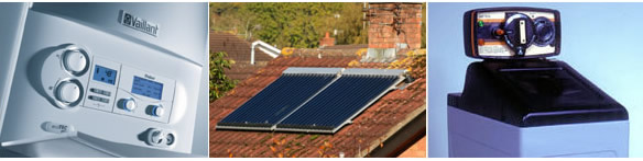 Boiler Upgrades, Solar Heating panels and Water Softeners